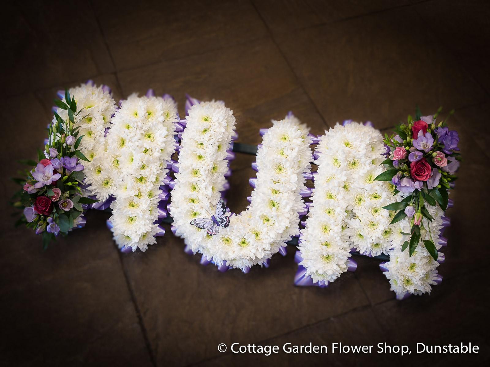 Mum Tribute The Cottage Garden Flower Shop Dunstables Original