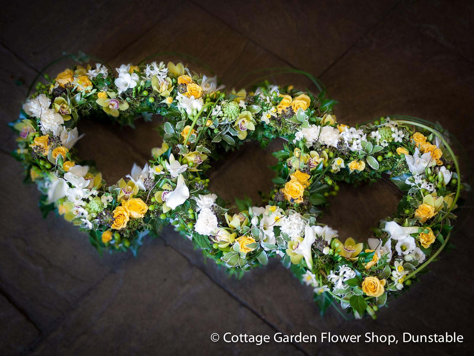 Open triple heart the cottage garden flower shop dunstables open triple heart izmirmasajfo
